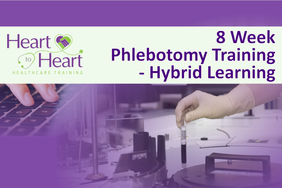 Experience 8 Week Phlebotomy Training the Hybrid Way